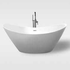 acrylic free standing bathtub