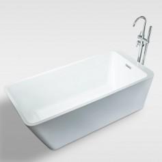 Free standing bathtub acrylic bathtub