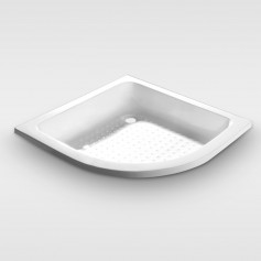 drop in arc shower tray