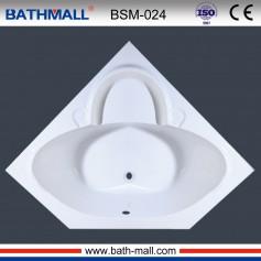 acrylic corner bathtub