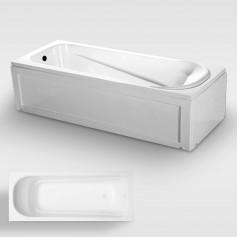 Acrylic bathtub with panel, panel bath, bathtub with skirts
