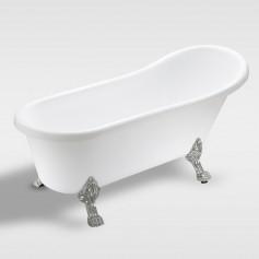 acrylic classic bathtub, free-stand bath