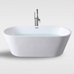 one piece Free standing bathtub