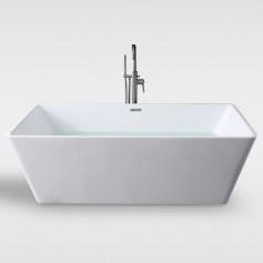 Free standing acrylic bath tub